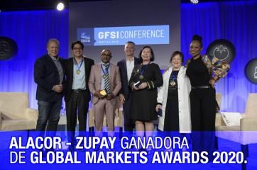 ALACOR ZUPAY GANADORA DE GLOBAL MARKETS AWARDS 2020