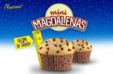 Nuevas Mini Magdalenas